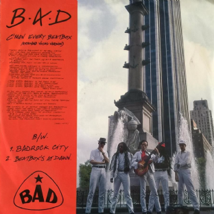 "Big Audio Dynamite (BAD) - C'Mon Every Beatbox (12"") (EX-/VG)"
